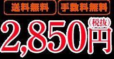 【送料無料】【手数料無料】2,850円(税抜)