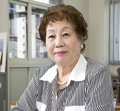 中村学園大学名誉教授、農学博士 楠 喜久枝さん